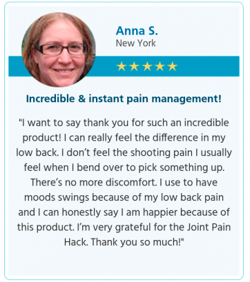 Joint Pain Hack Testimonial