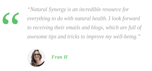 Natural Synergy Cure testimonial