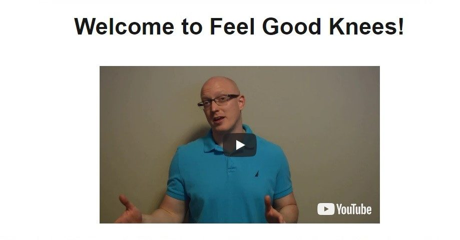 Feel Good Knees for Fast Pain Relief Review Image